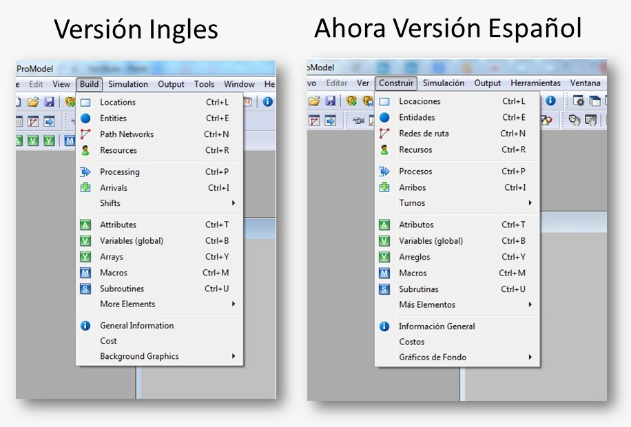 Software de simulación ProModel español